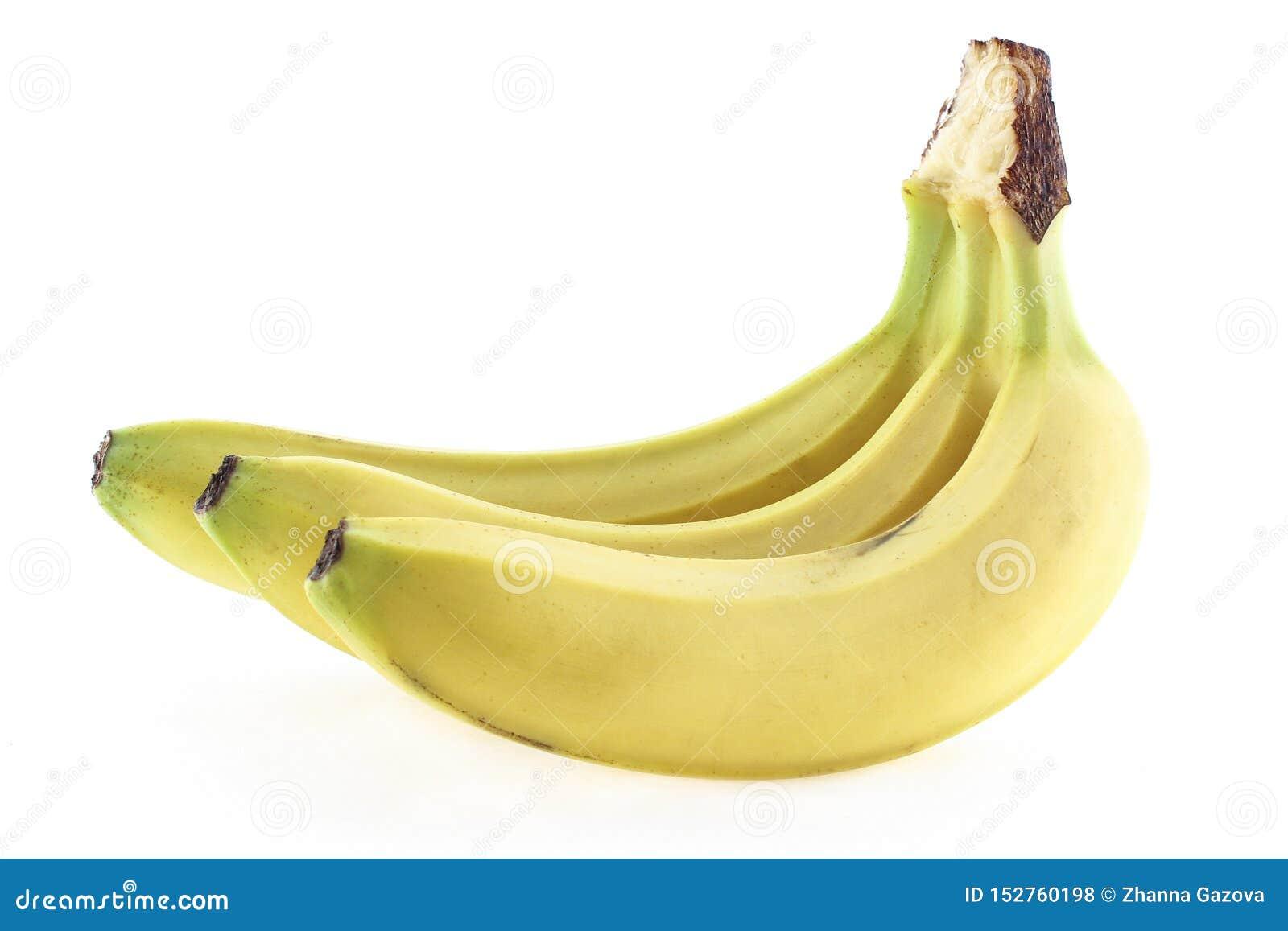 Bananas maduras na casca