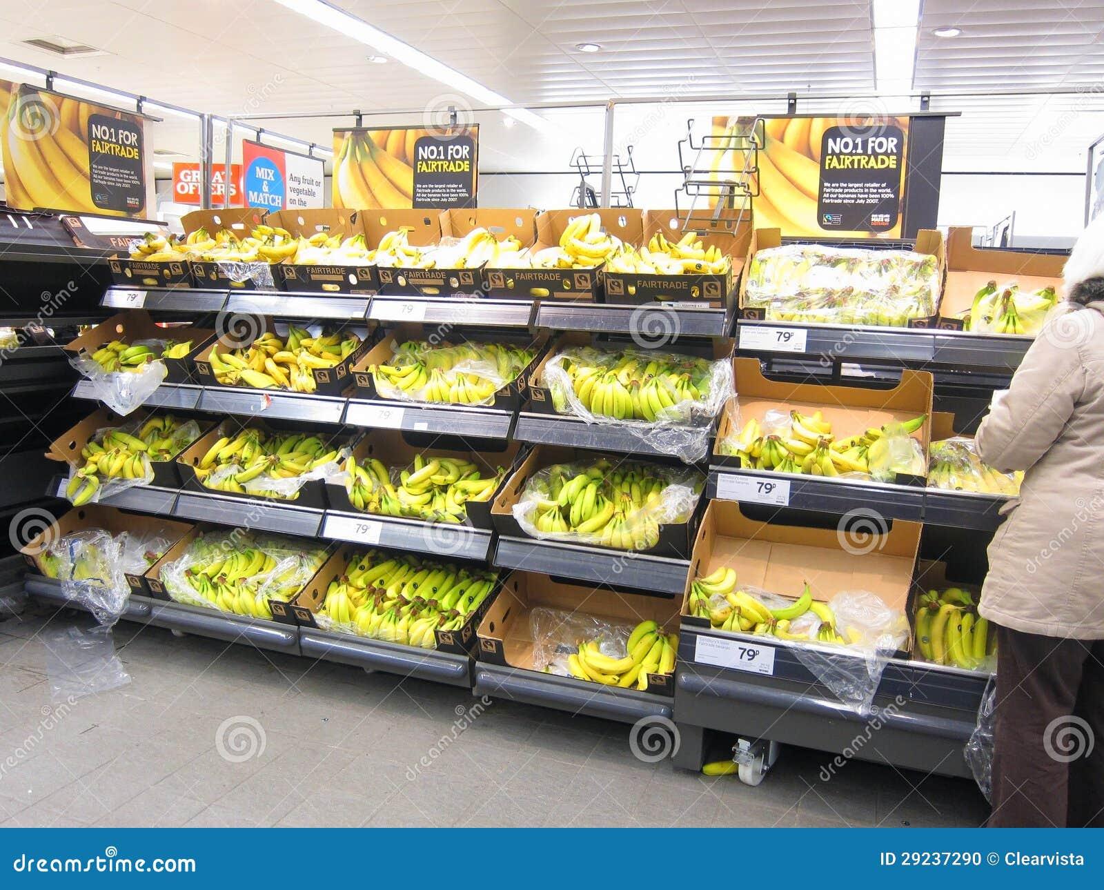 Download Bananas No Indicador Para A Venda. Imagem Editorial - Imagem de bananas, compra: 29237290