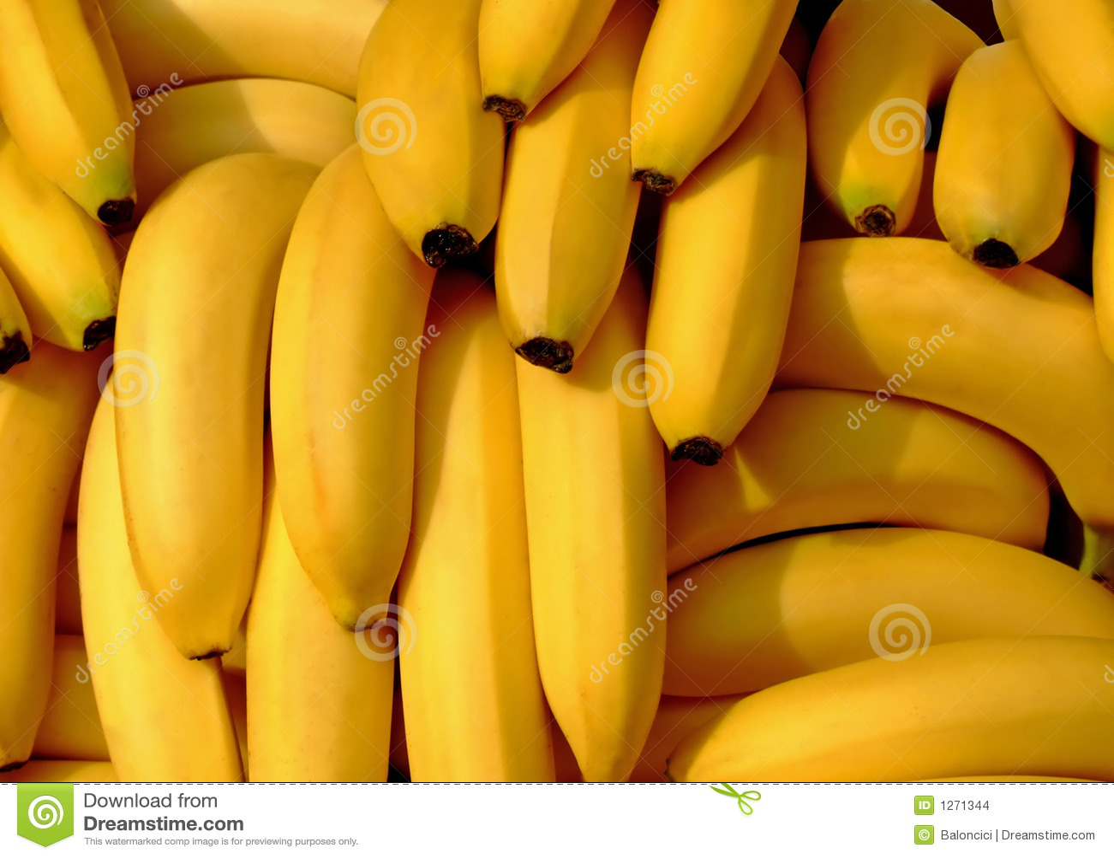 Bananas pile