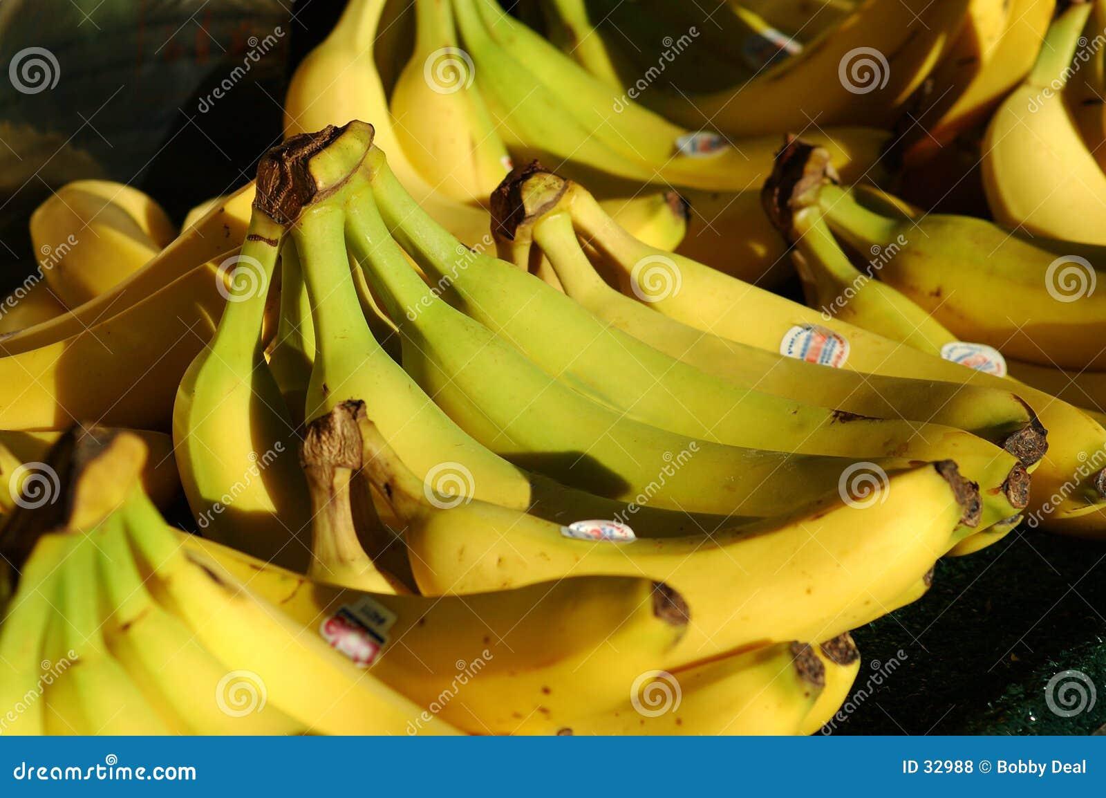 Banane del mercato dei coltivatori