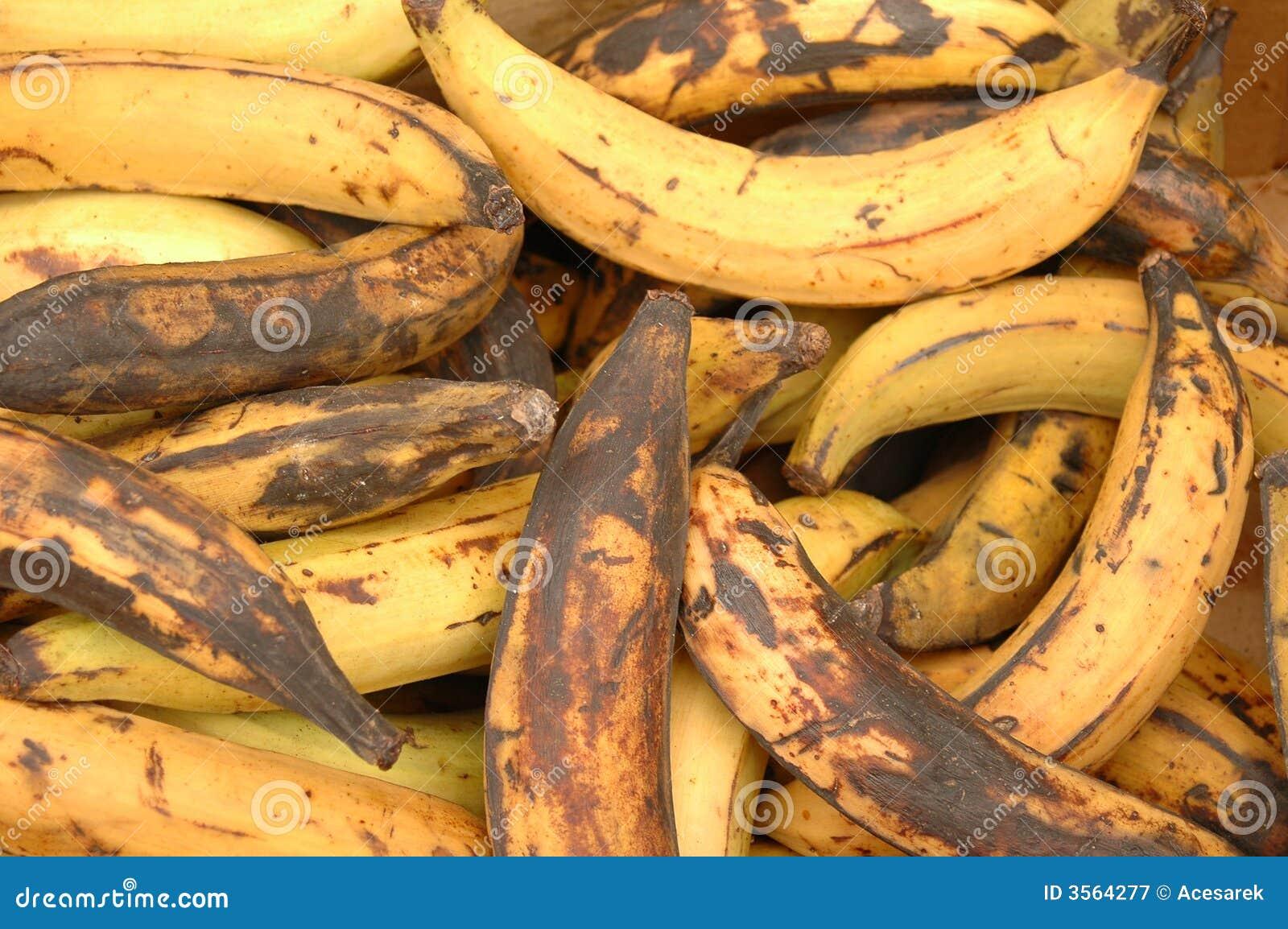 Banane di decomposizione