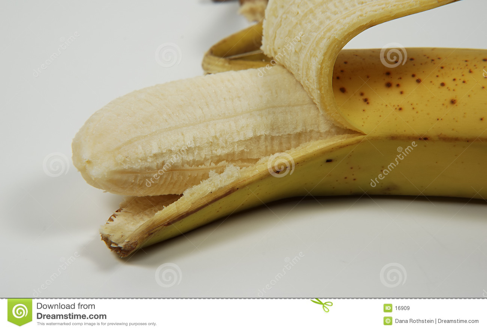 Banane enlevée