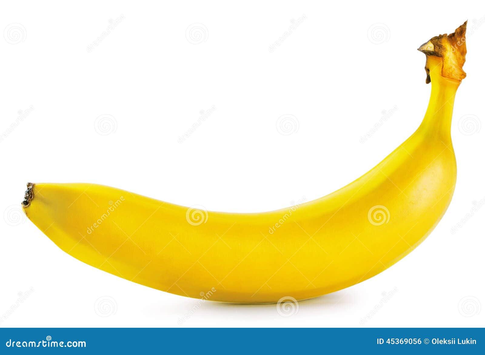 Banane mûre jaune