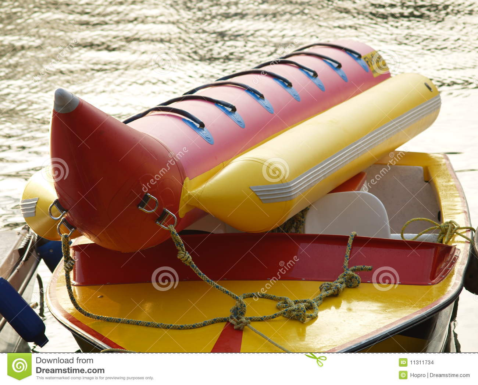 Banane u. Boot