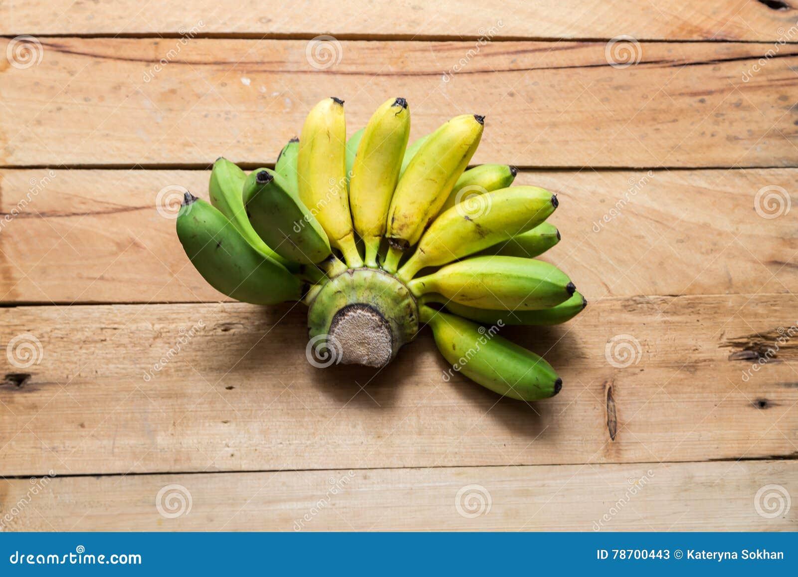 Bananen Gelb und Grün