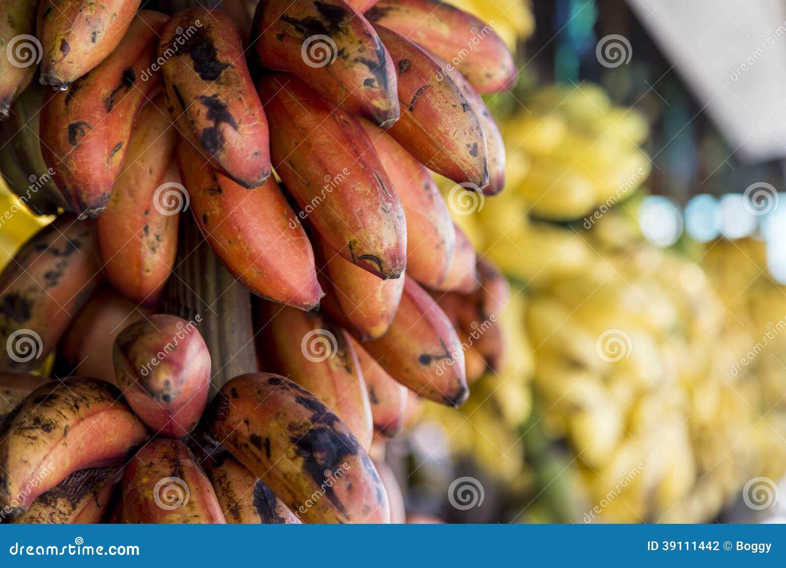 Bananen op de markt