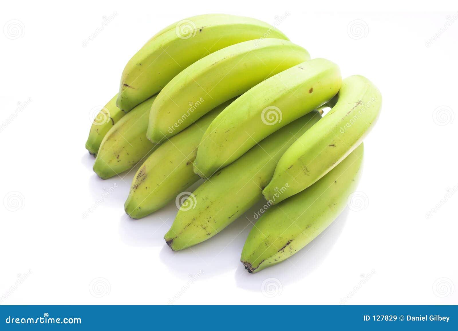 Banany zielone