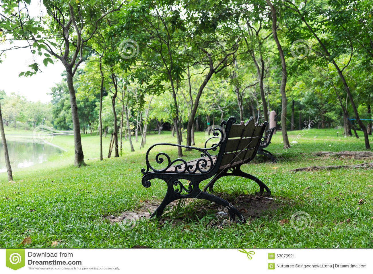Download Banc dans Central Park image stock. Image du carpelle - 63076921