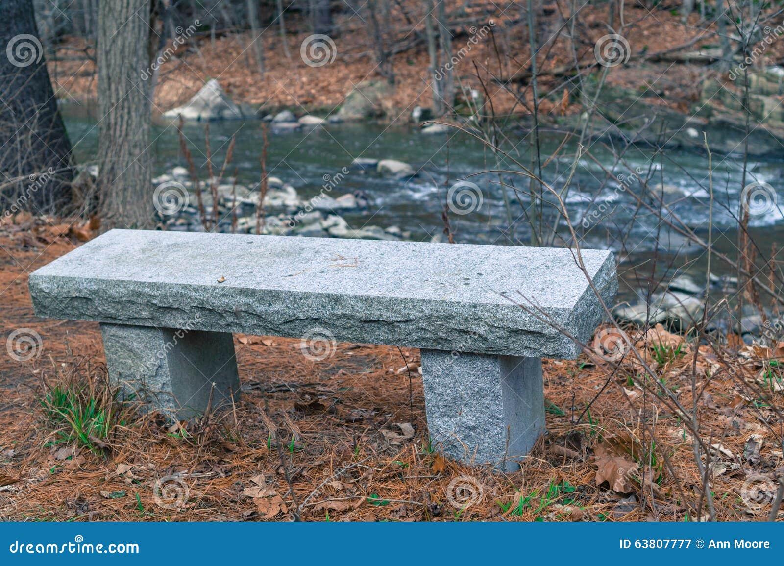 banc de granit photo stock image 63807777. Black Bedroom Furniture Sets. Home Design Ideas