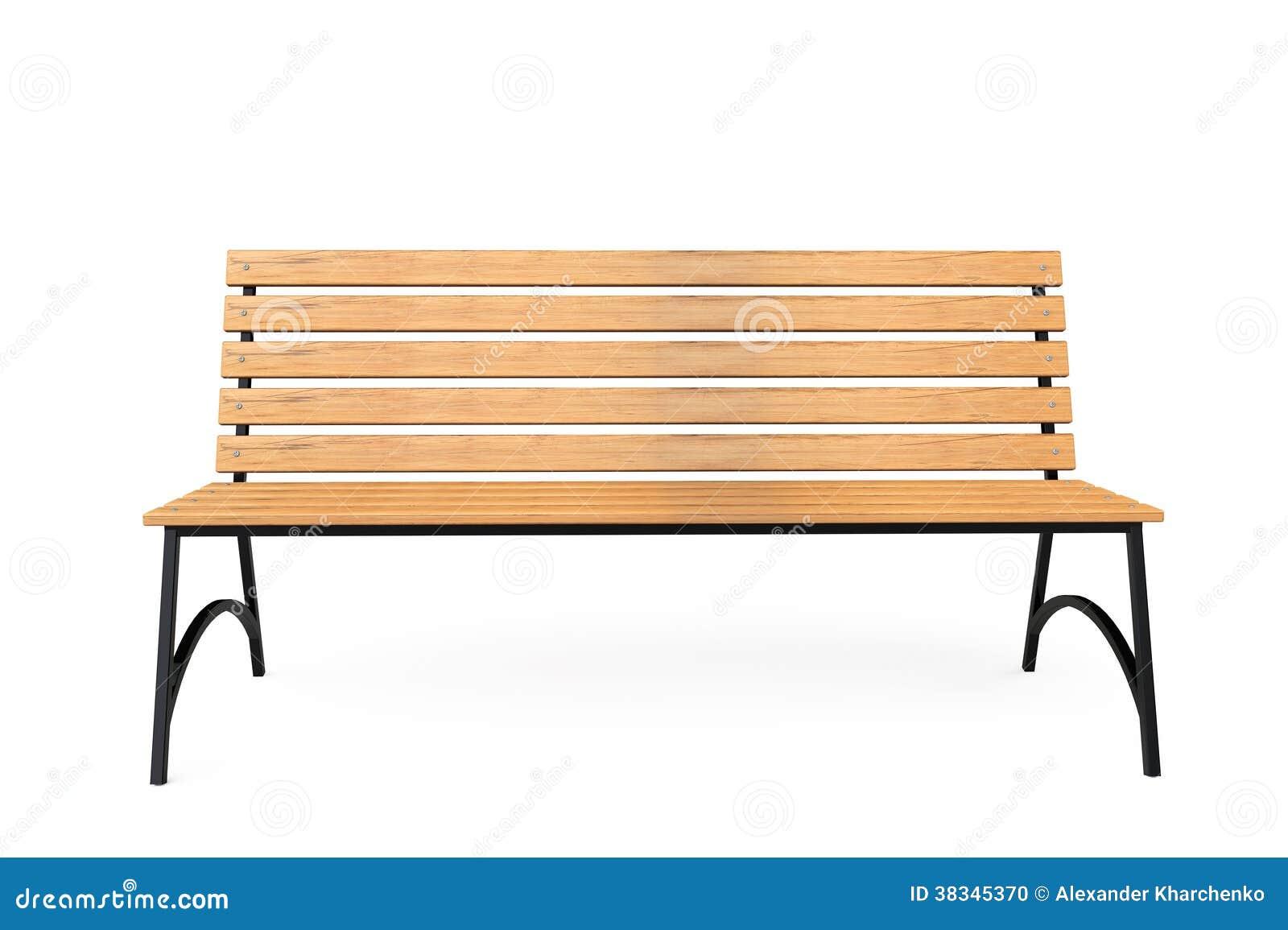 banc de parc en bois photo stock image 38345370. Black Bedroom Furniture Sets. Home Design Ideas