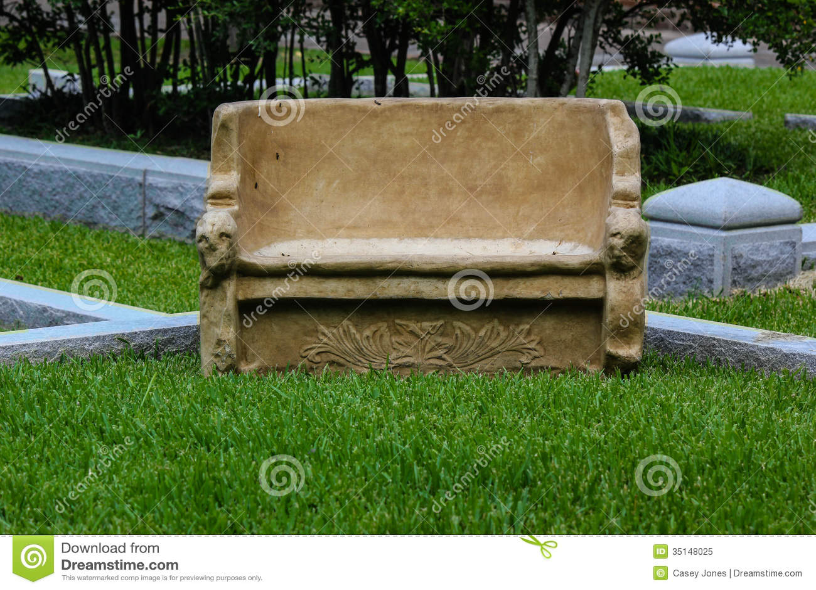 banc en pierre image stock. image du séance, beige, pierre - 35148025