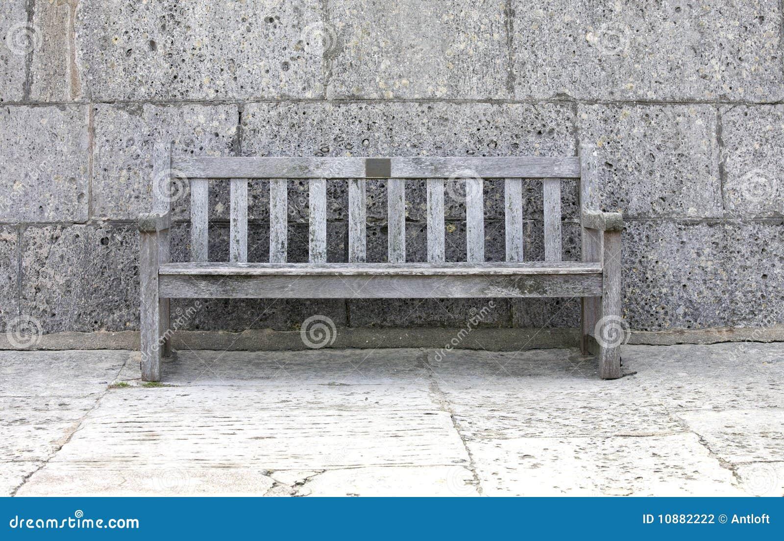 banc gris photographie stock image 10882222. Black Bedroom Furniture Sets. Home Design Ideas