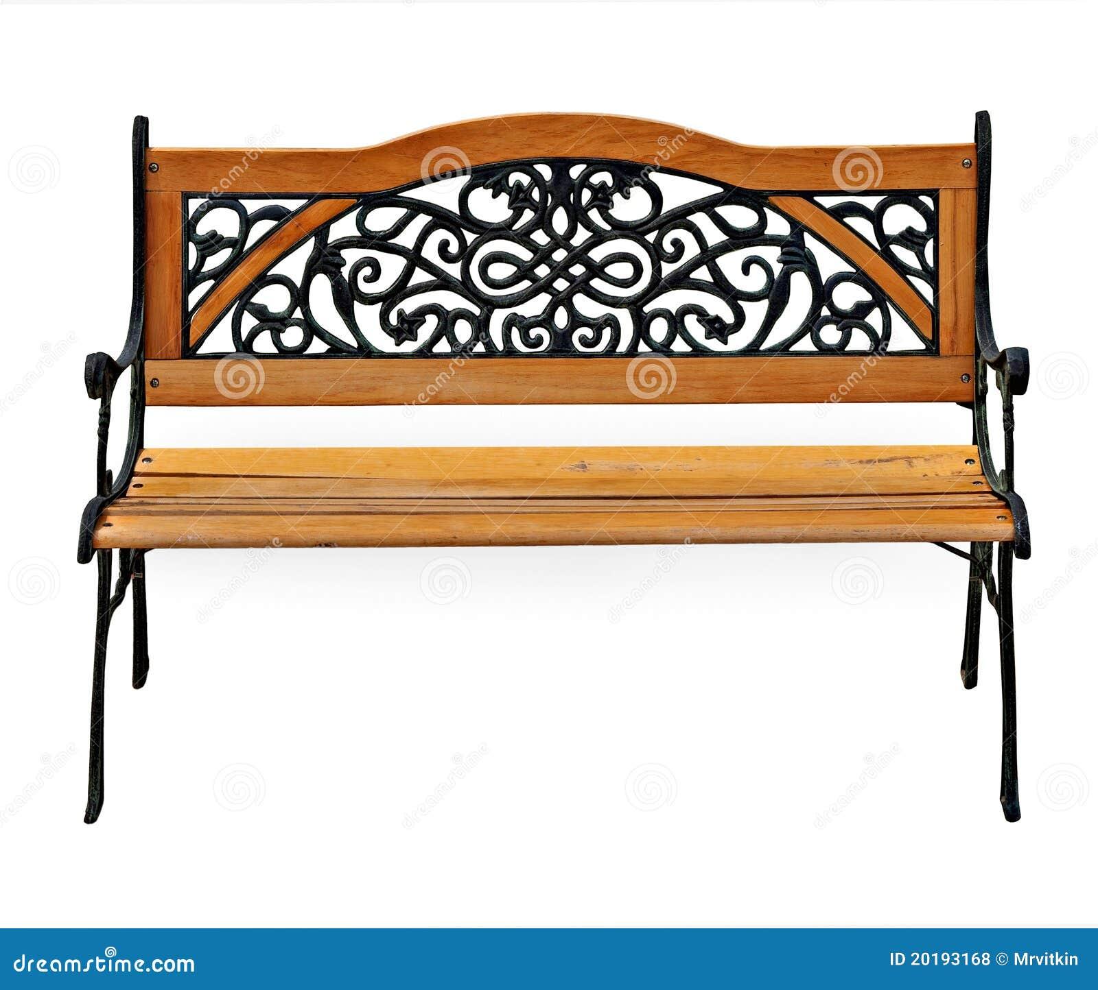 Fotos de Stock Royalty Free: Banco à moda do ferro fundido do jardim  #B05111 1300x1190