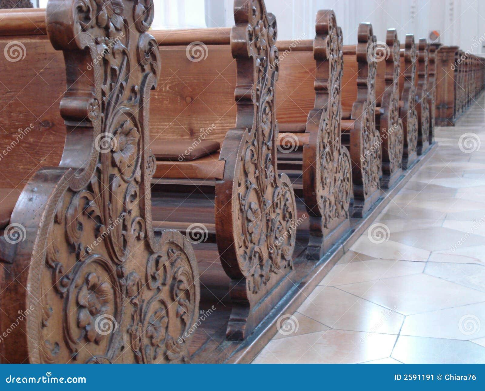 Banco De Igreja Imagem de Stock Imagem: 2591191 #815A4A 1300x1065