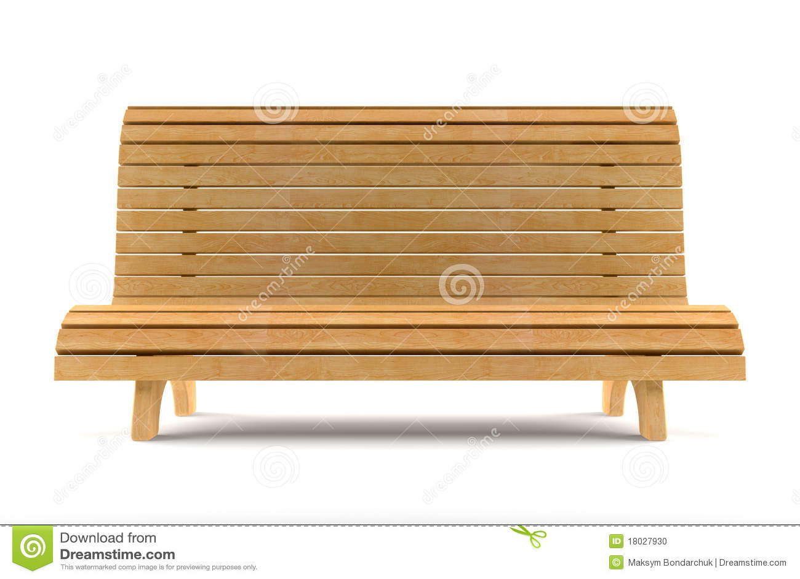 Banco de madera aislado en el fondo blanco stock de ilustraci n ilustraci n de madera blanco - Banco de madera blanco ...