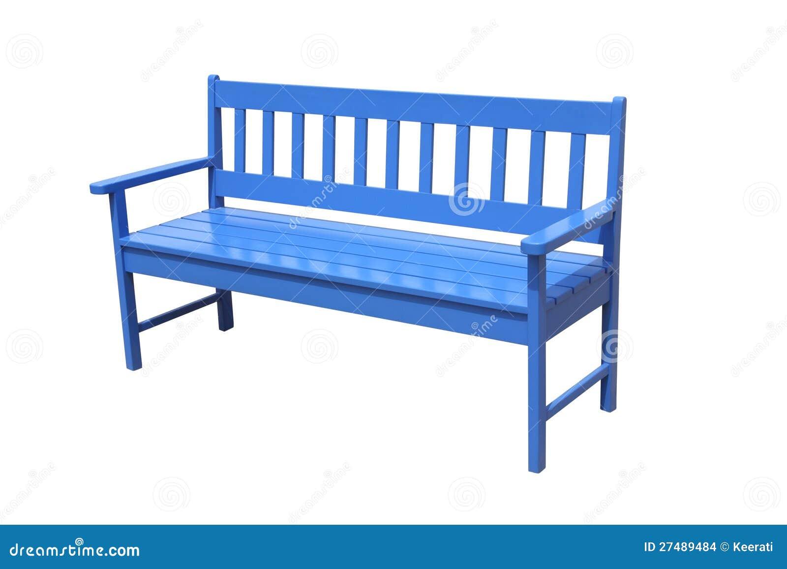 Banco de madera azul de la perspectiva imagenes de archivo imagen 27489484 - Banco de madera blanco ...