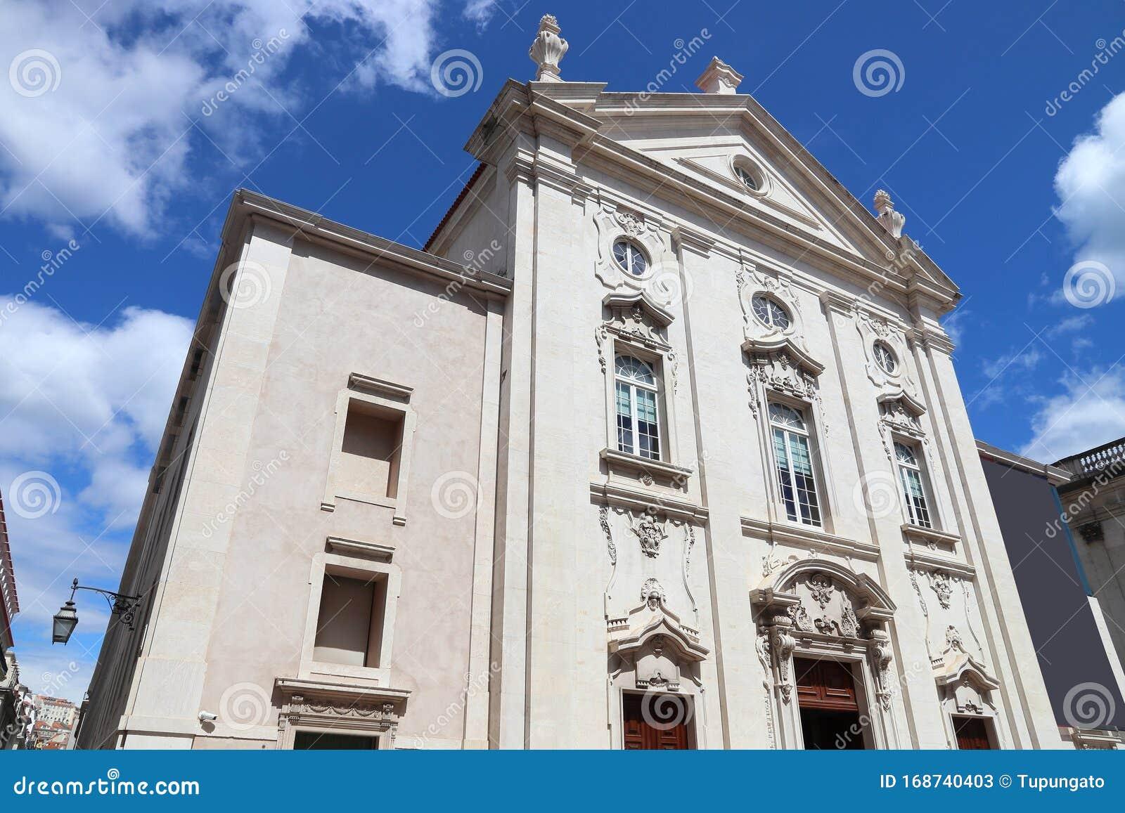 Banco De Portugal, Lissabon Stockbild - Bild von eingebürgert, europäisch:  168740403