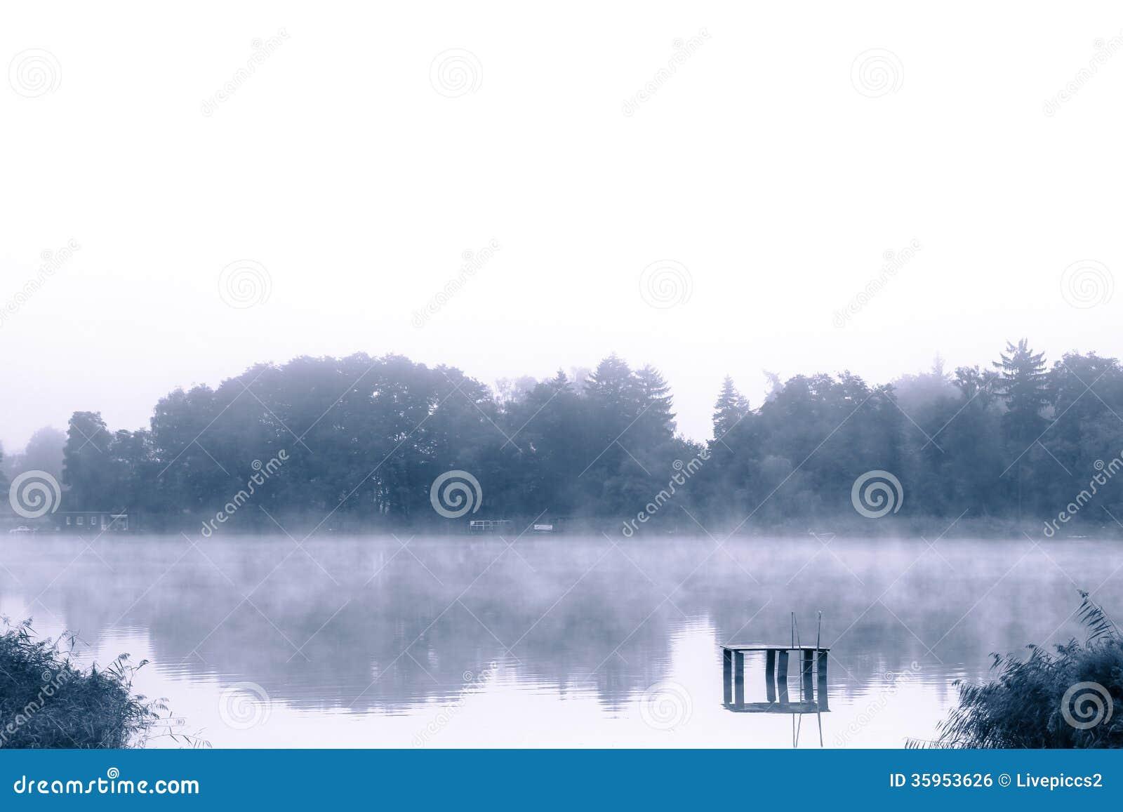 Banco del lago