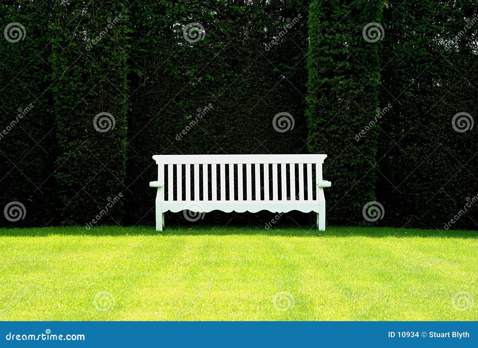 Banco inglés del jardín
