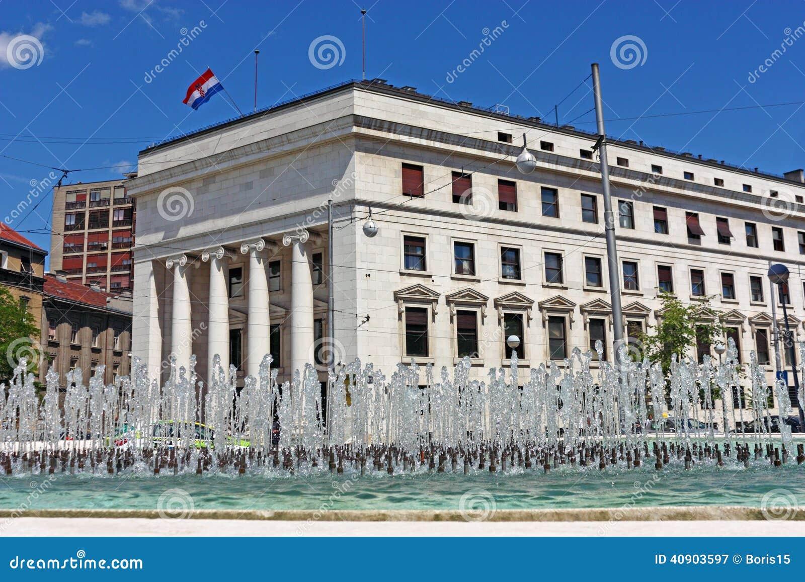 Banco Nacional croata, Zagreb