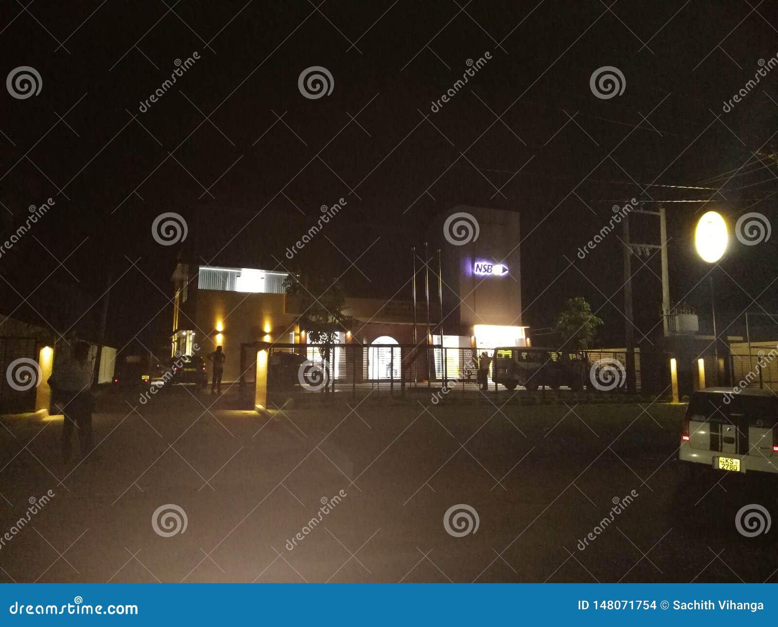 Banco srilanqués de la relocalización Lugar hermoso mismo