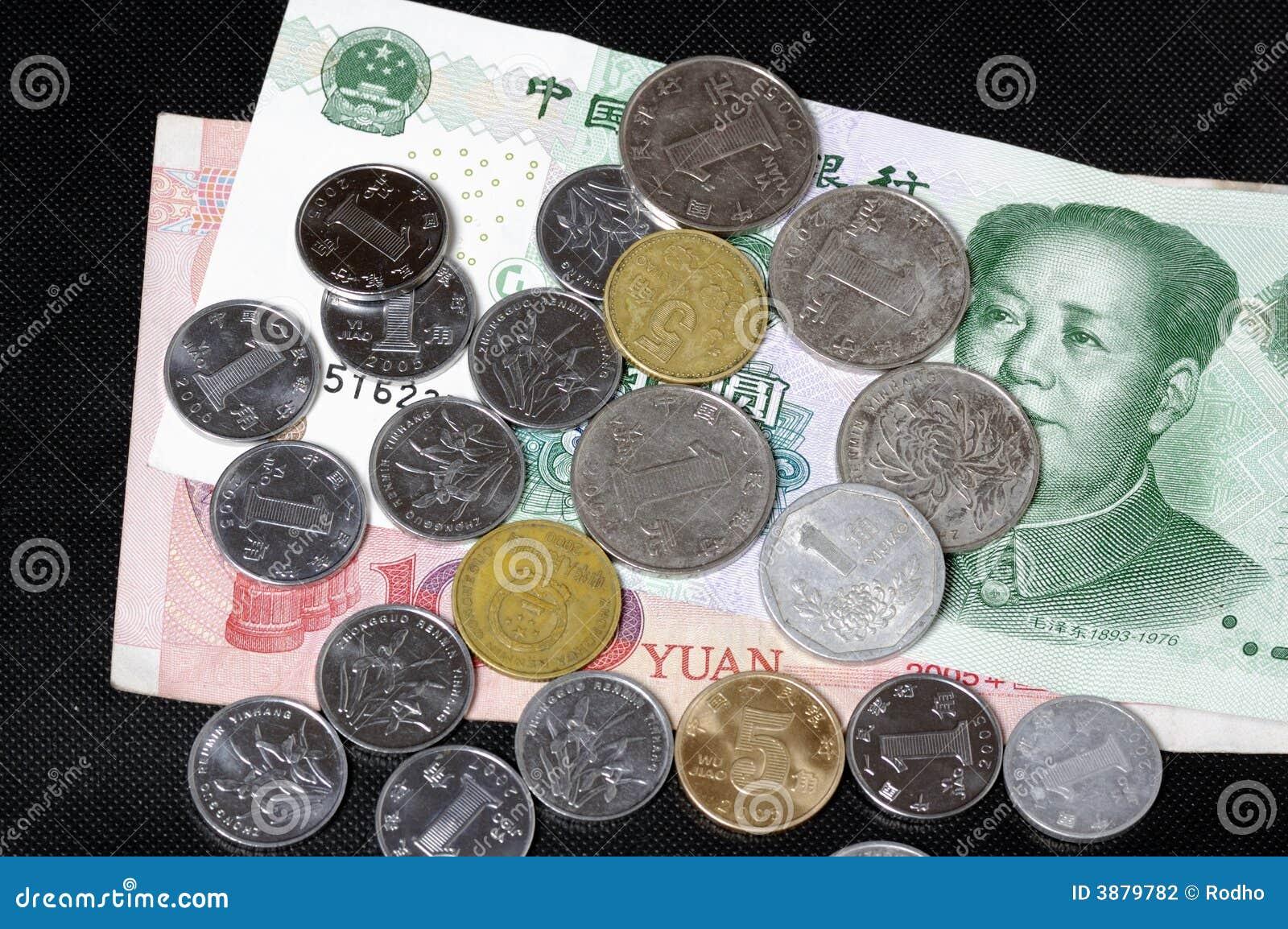 Banconote e monete cinesi