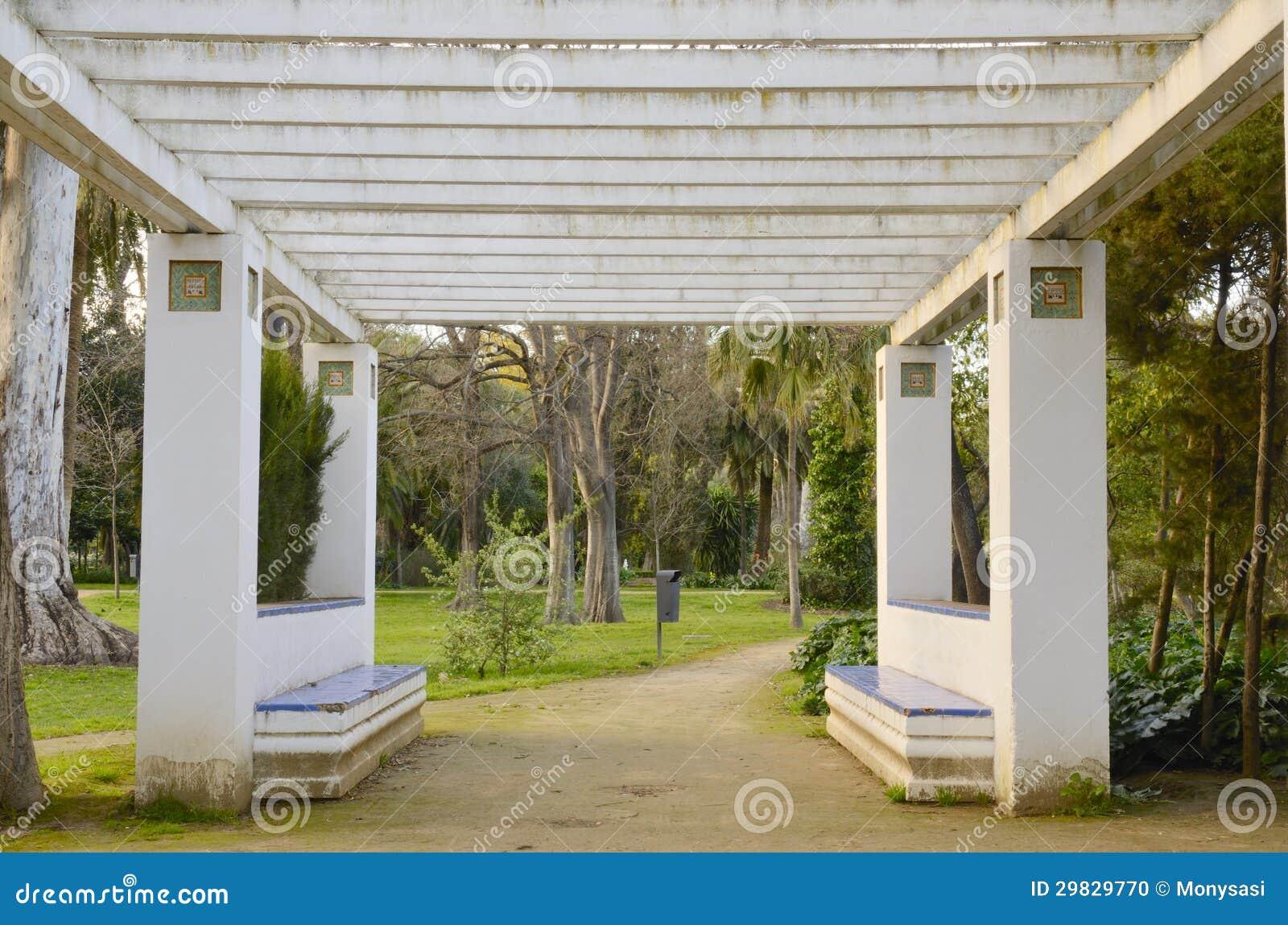 Bancos no parque