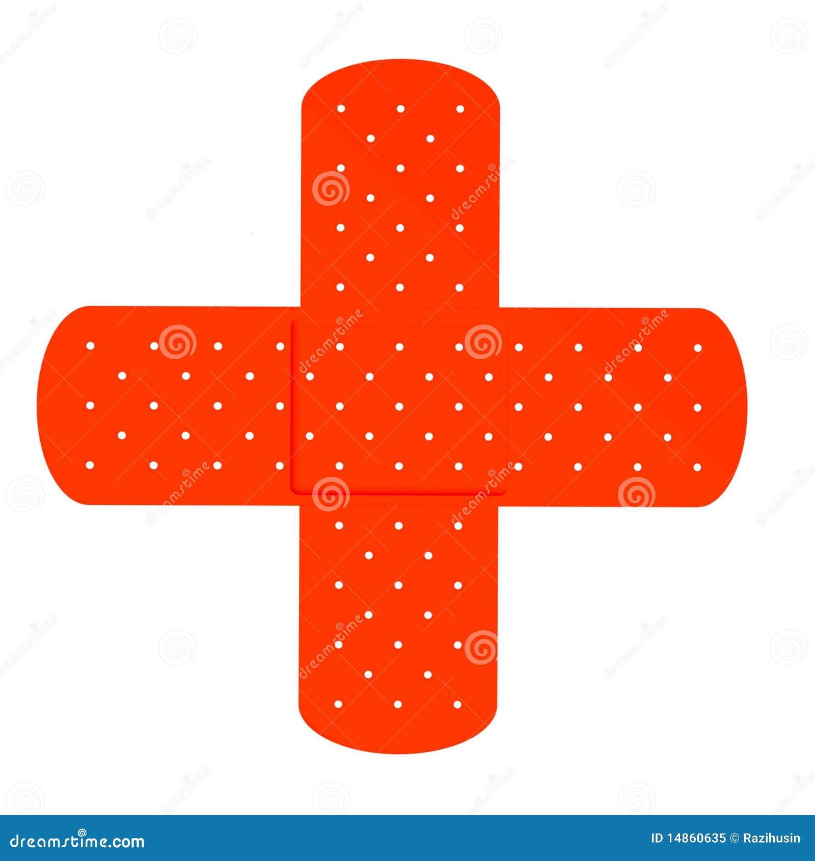 Band aid cross