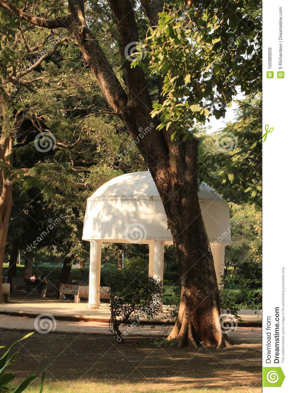Band Stand in Law Gardens stock image. Image of famous - 105980659
