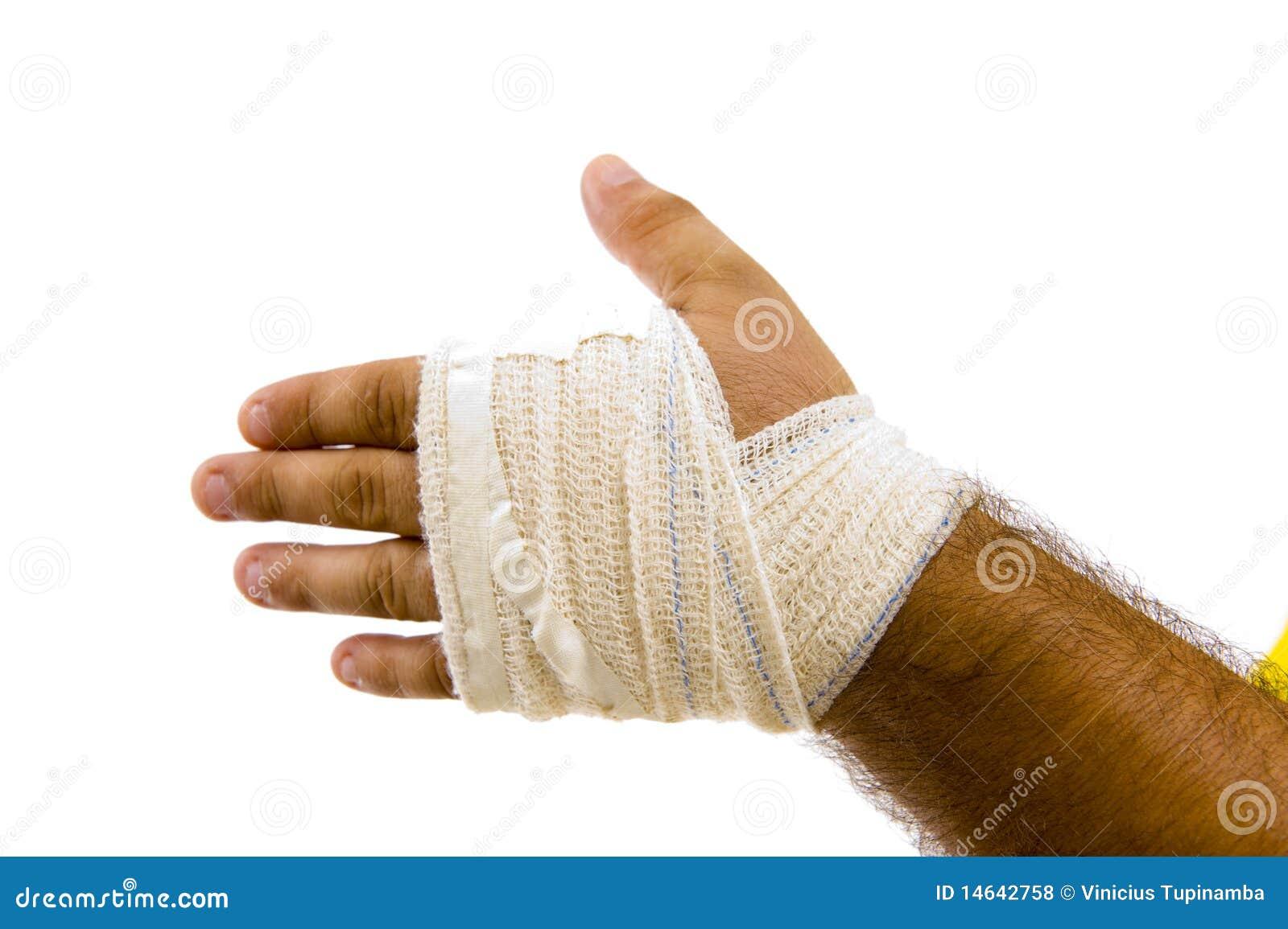 Bandażująca ręka