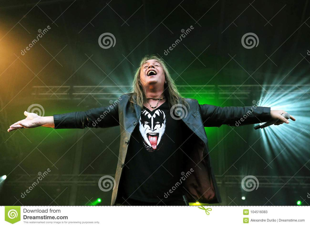 banda helloween andi deris editorial stock photo image of