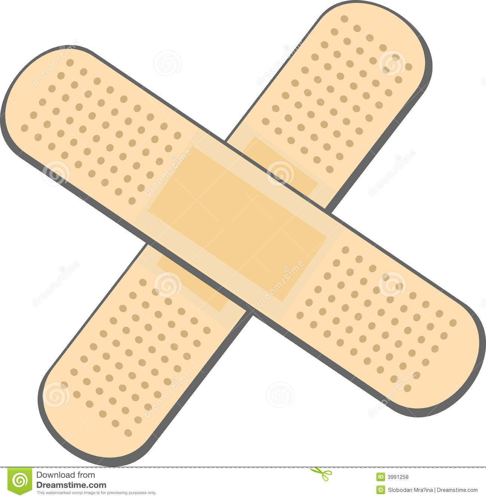 Bandage plaster stock illustration  Illustration of gauze