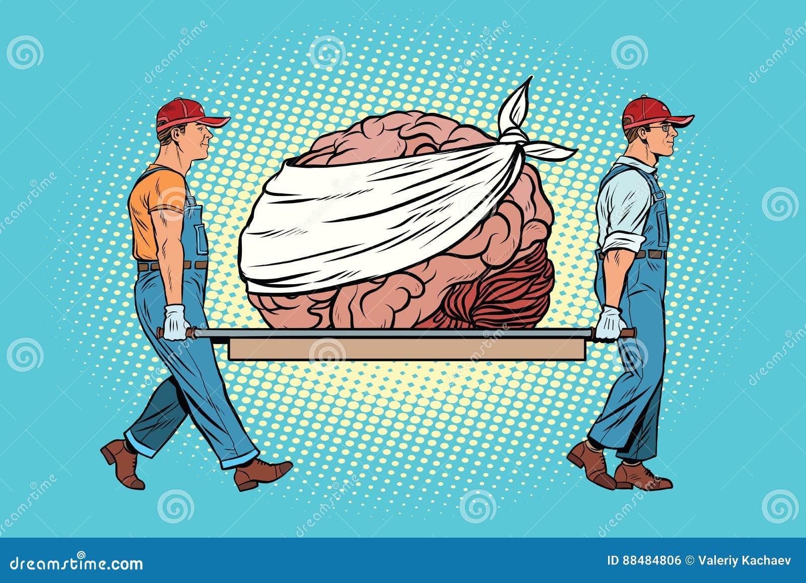 Bandaged concernent la réparation de cerveau