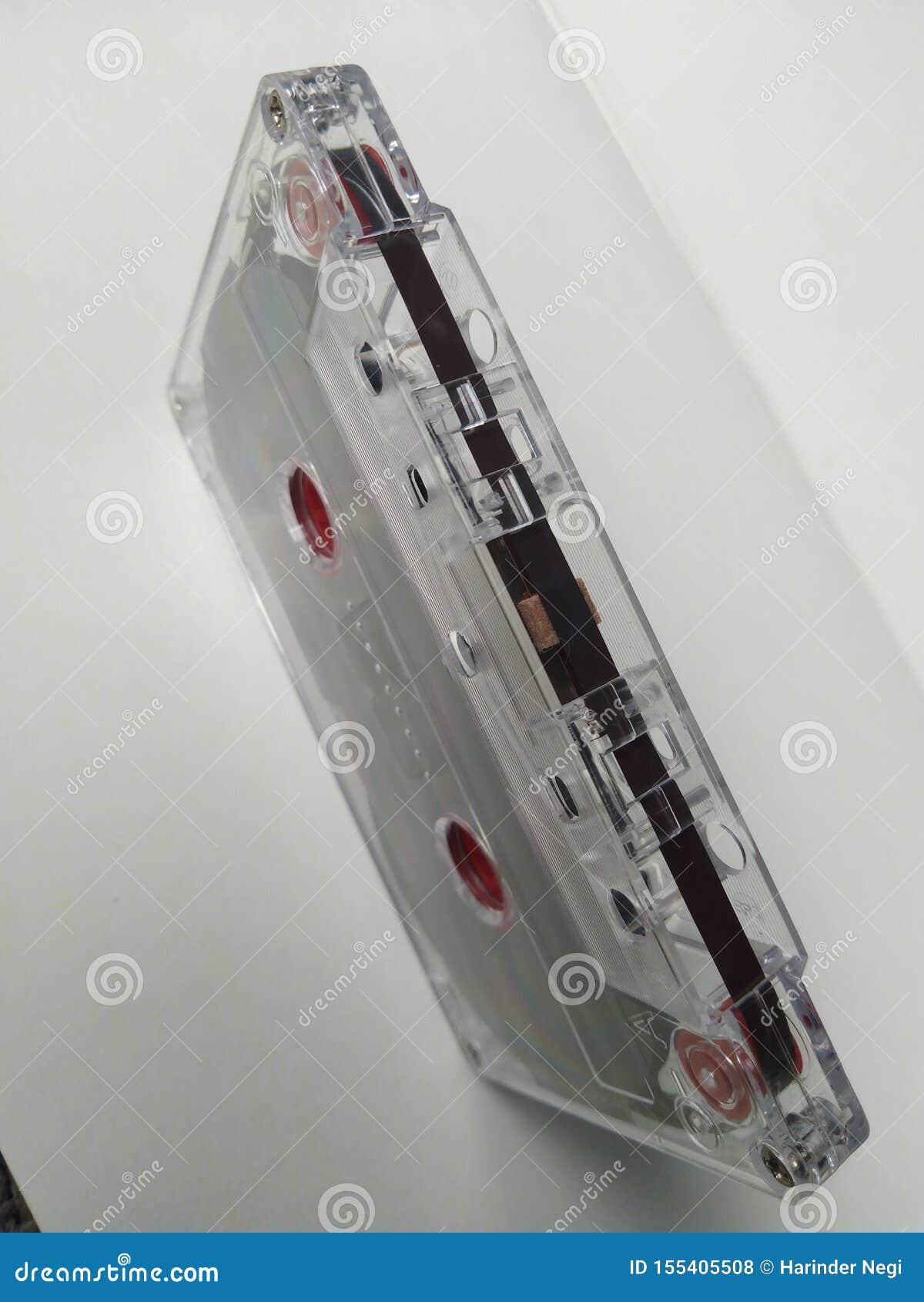 Bande de cassette sonore en position de position