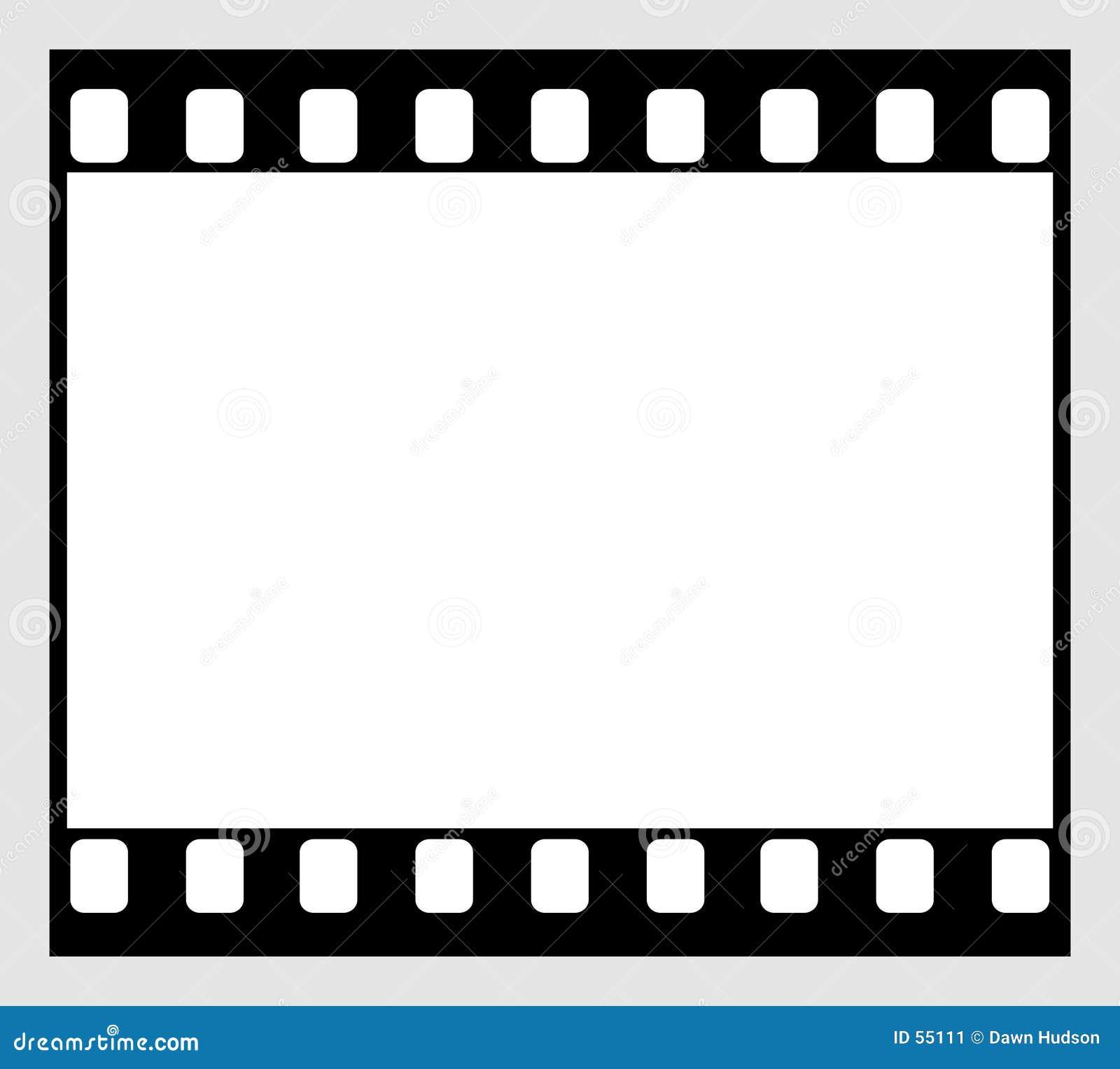 Download Bande de film de 35mm illustration de vecteur. Illustration du photographie - 55111