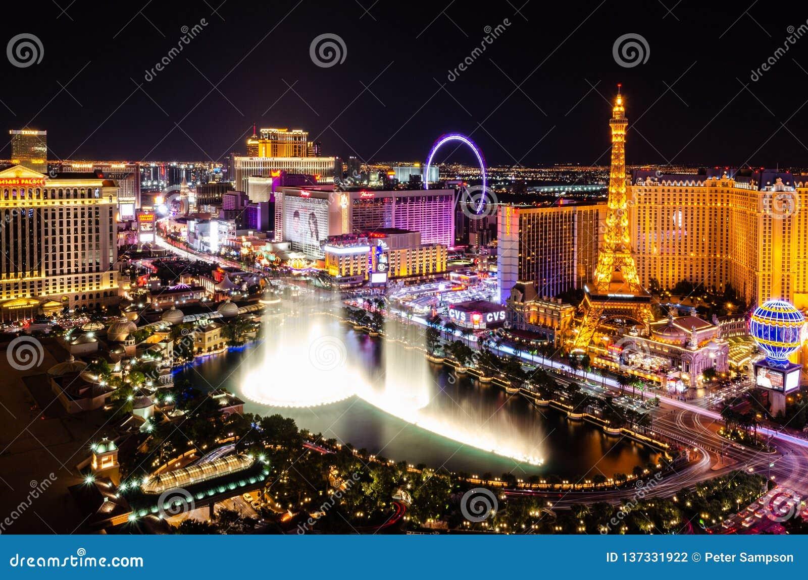 Bande de Las Vegas la nuit