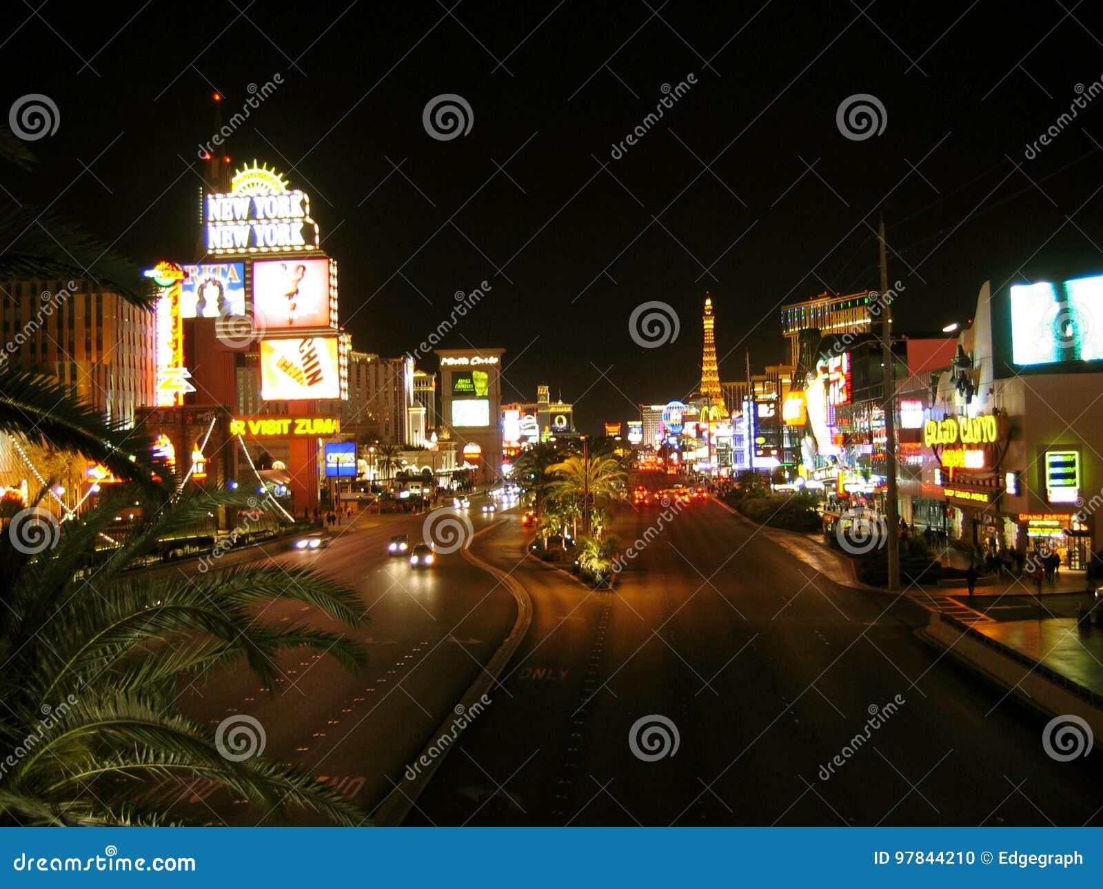Bande de Las Vegas, Las Vegas, Nevada, Etats-Unis