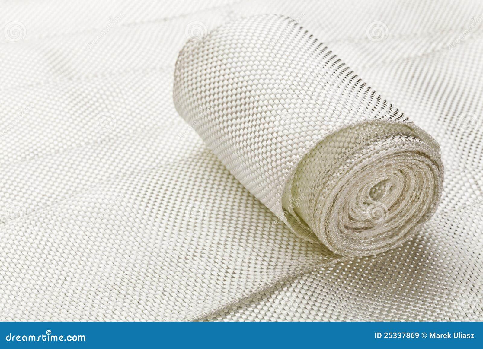 Bande de tissu de fibre de verre