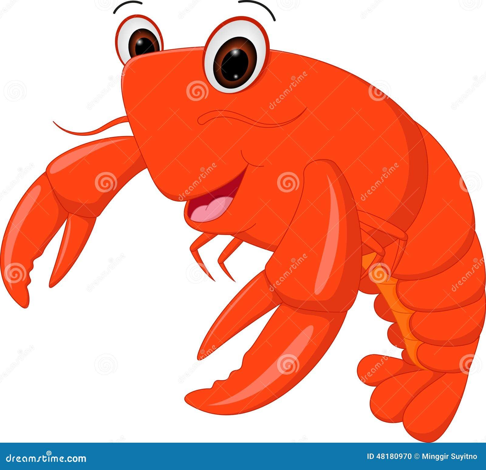 Bande dessinée de homard
