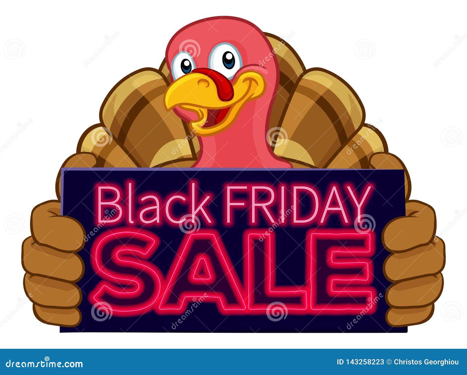 Bande Dessinee De Vente De La Turquie Black Friday Illustration De Vecteur Illustration Du Black Turquie 143258223