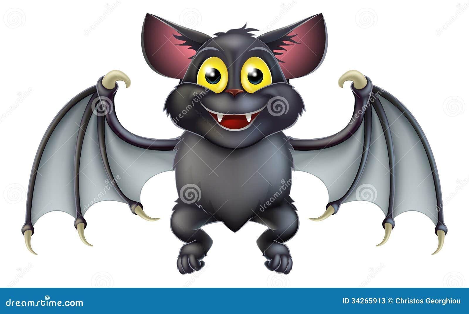 Bande dessin e mignonne de chauve souris de halloween - Dessin halloween chauve souris ...