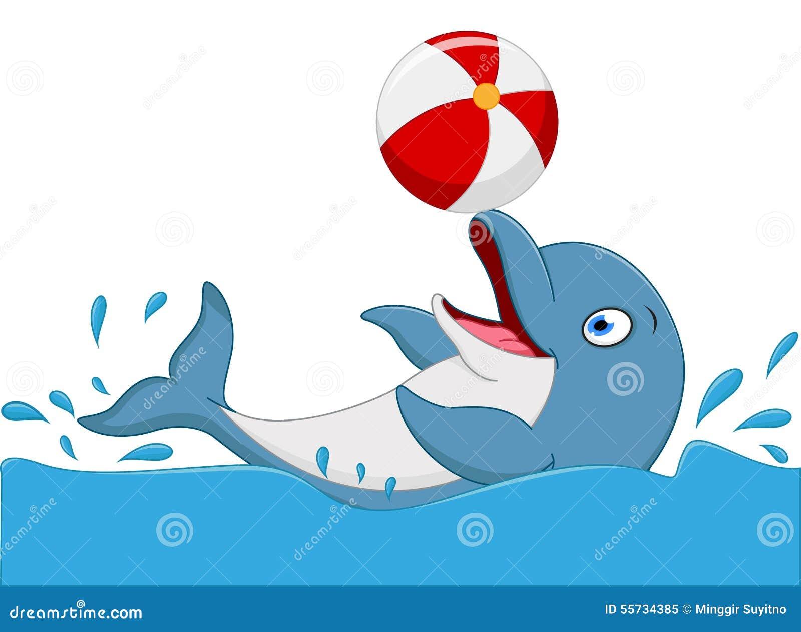 [Jeu] Association d'images - Page 19 Bande-dessine-heureuse-de-dauphin-jouant-la-boule-55734385