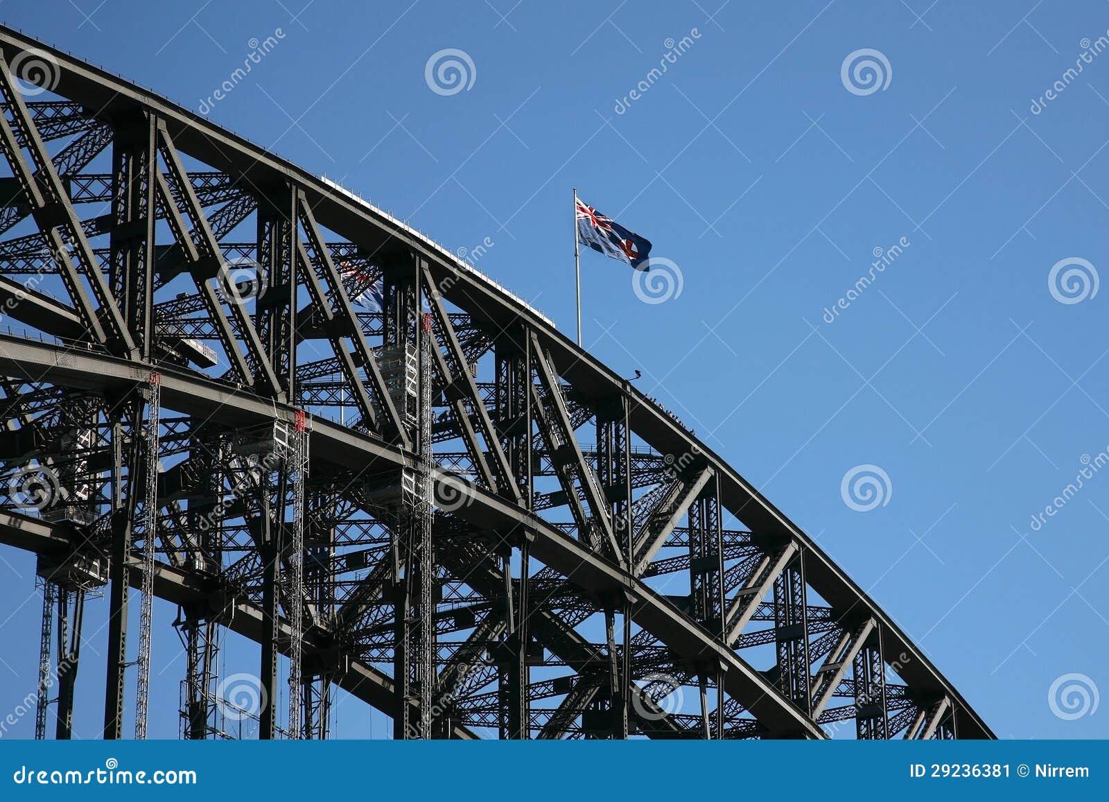 Download Bandeira imagem de stock. Imagem de céu, grande, girders - 29236381