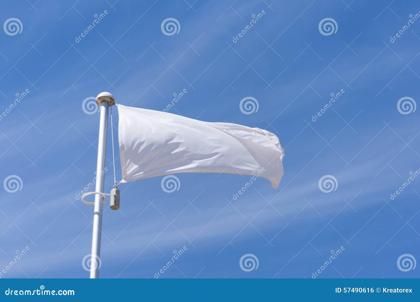 Bandeira branca do voo