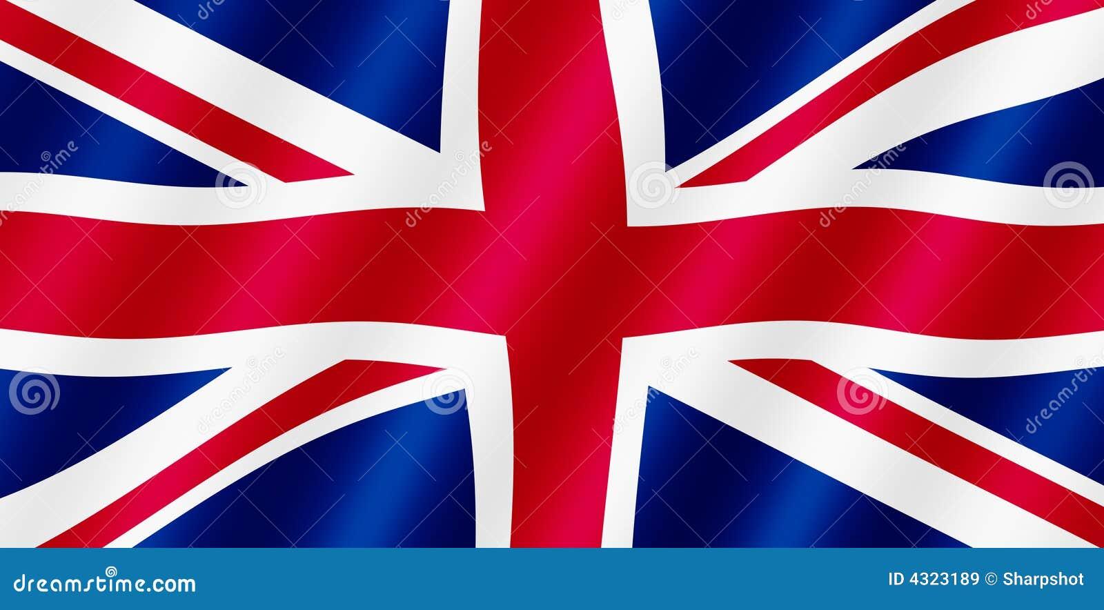 Bandeira britânica de Jack de união.