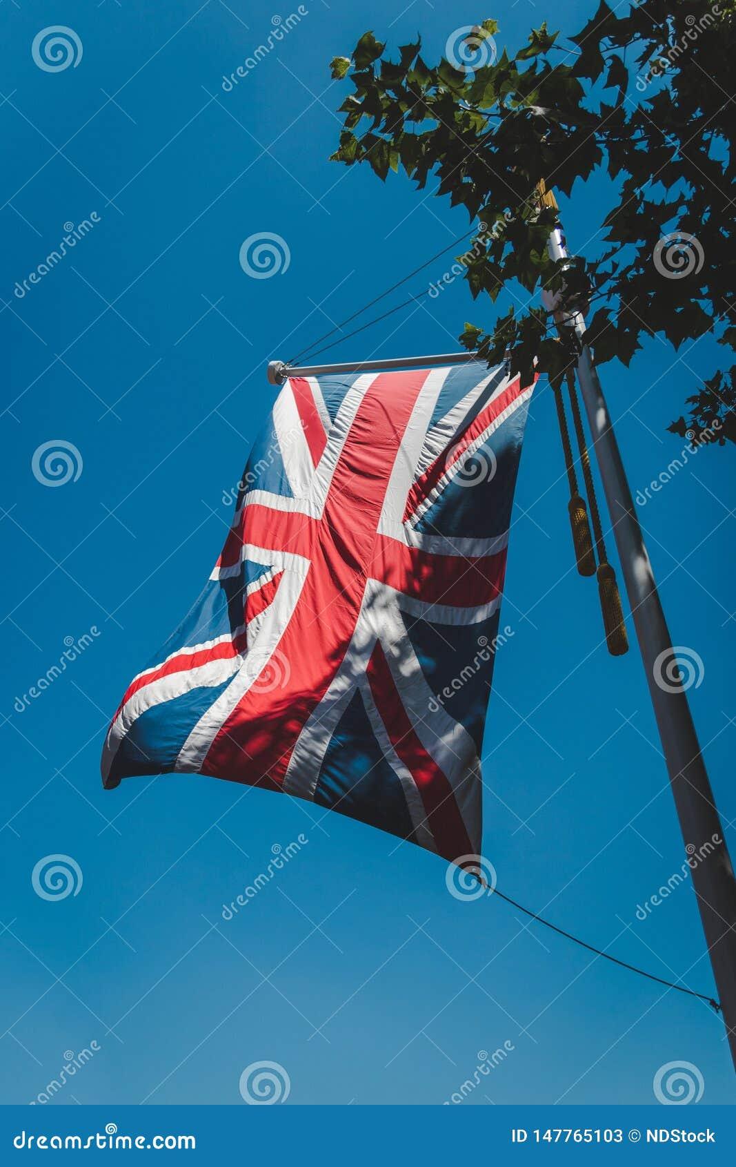 Bandeira britânica, jaque de união, bandeira de união