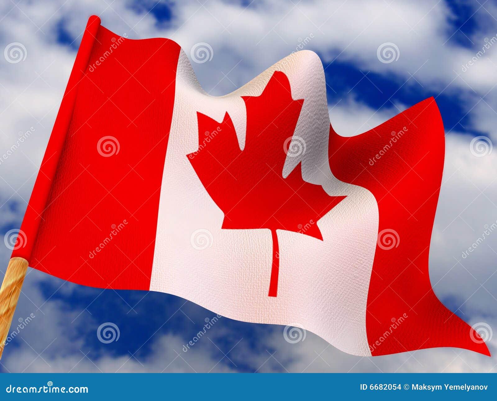 Bandeira. Canadá
