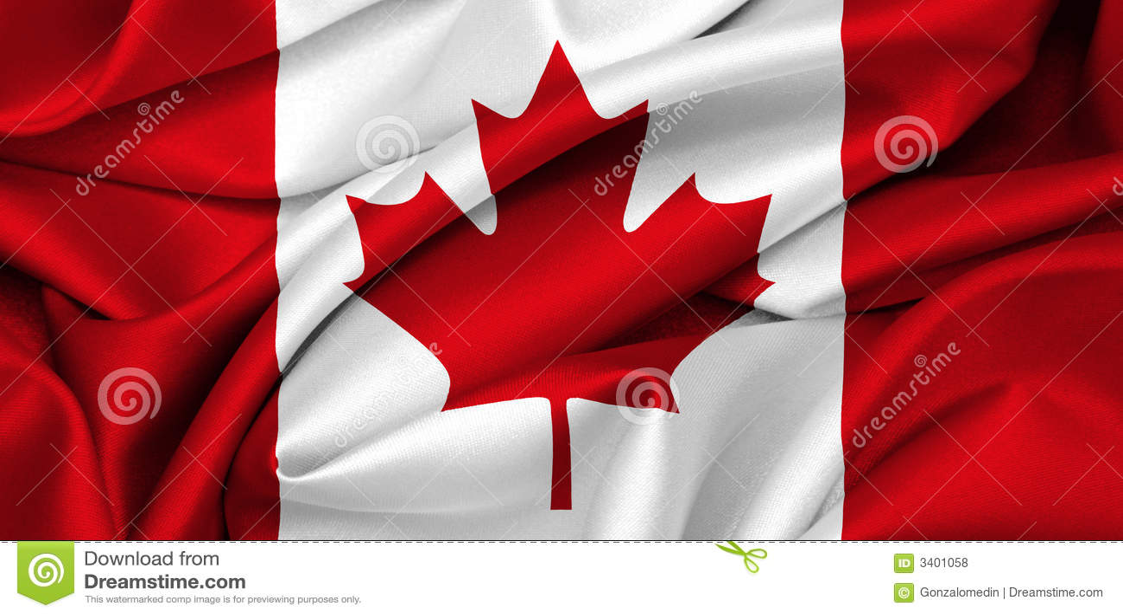 Bandeira canadense - Canadá
