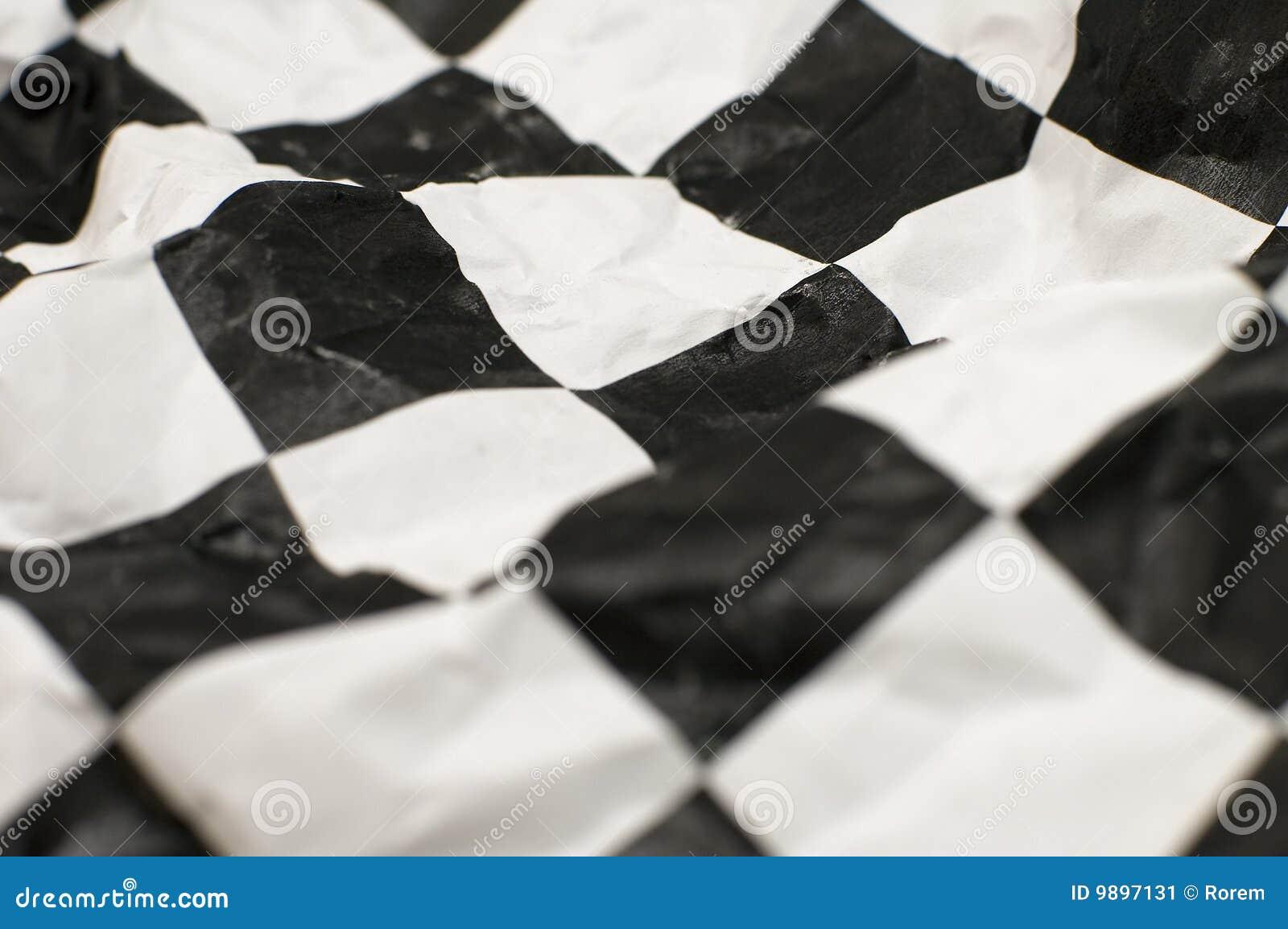 Bandeira Checkered da raça