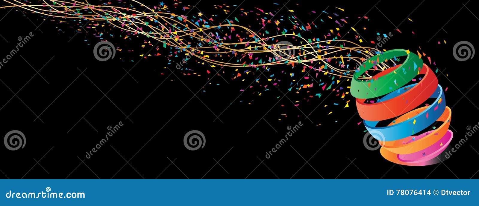 Bandeira Colorida Da Estrela Da Mosca Da Bola Foto de Stock - Imagem ... 45c5150bdc76d